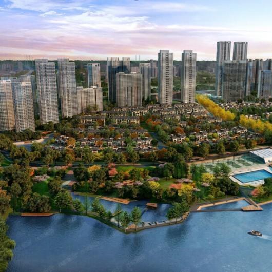 武汉纯水岸·东湖IC卡梯控系统